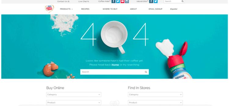 Consejos para crear páginas 404 efectivas