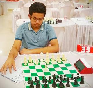 Priyangshu Mazumder chess