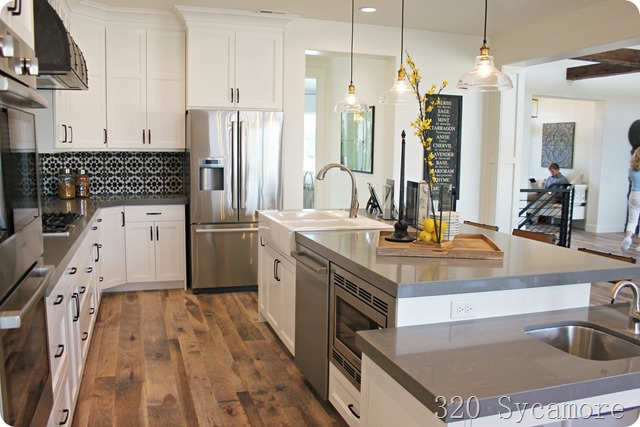 fixer upper kitchen parade