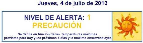 Activado nivel de riesgo 1 por calor en la Comunidad de Madrid - jueves 4 de junio 2013
