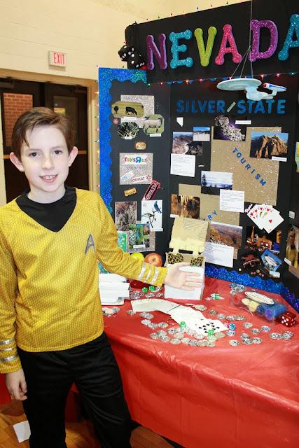 4th Grade States Fair 2014