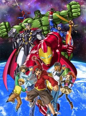 Biệt Đội Siêu Anh Hùng - Marvel Disk Wars The Avengers