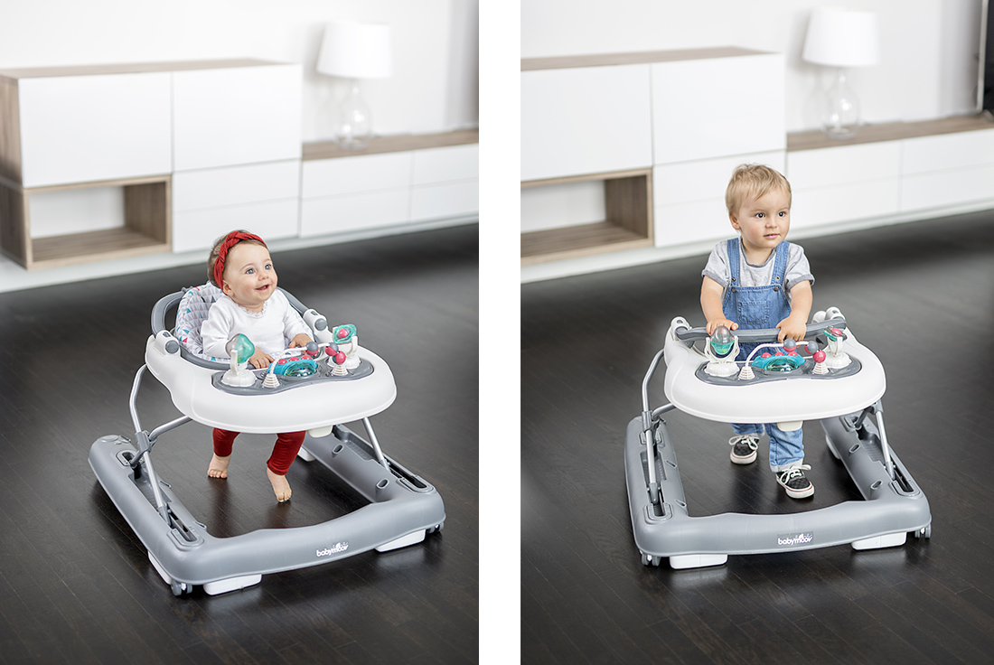 Trotteur 2 en 1 Babymoov