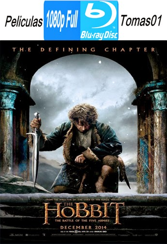 El Hobbit 3: La batalla de los cinco ejércitos (The Hobbit 3) (2014) (BRRip/BDRip) Full 1080p