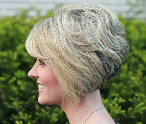 Wondrous Thick Wavy Short Blonde Hair With Side Bangs Fashion Qe Short Hairstyles Gunalazisus