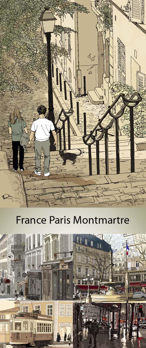 Stock: France, Paris, monuments