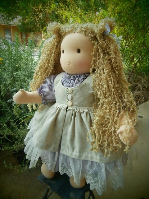 "18"" Custom Waldorf Doll"
