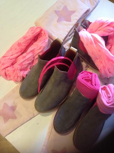 Primeras compras de otoño para las niñas.