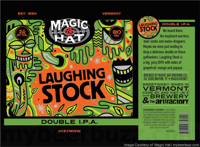 Magic Hat Laughing Stock DIPA Coming To 16oz Cans