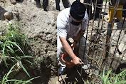 Bupati Aceh Tengah Letakan Batu Pertama Pembangunan Masjid Al Munawarah