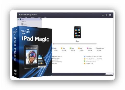 Xilisoft iPad Magic Platinum 5.4.10.20130509 [Multi] - Organiza tu iPad