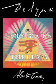 Cover of Aleister Crowley's Book The Equinox Vol III No IX The Holy Books Of Thelema
