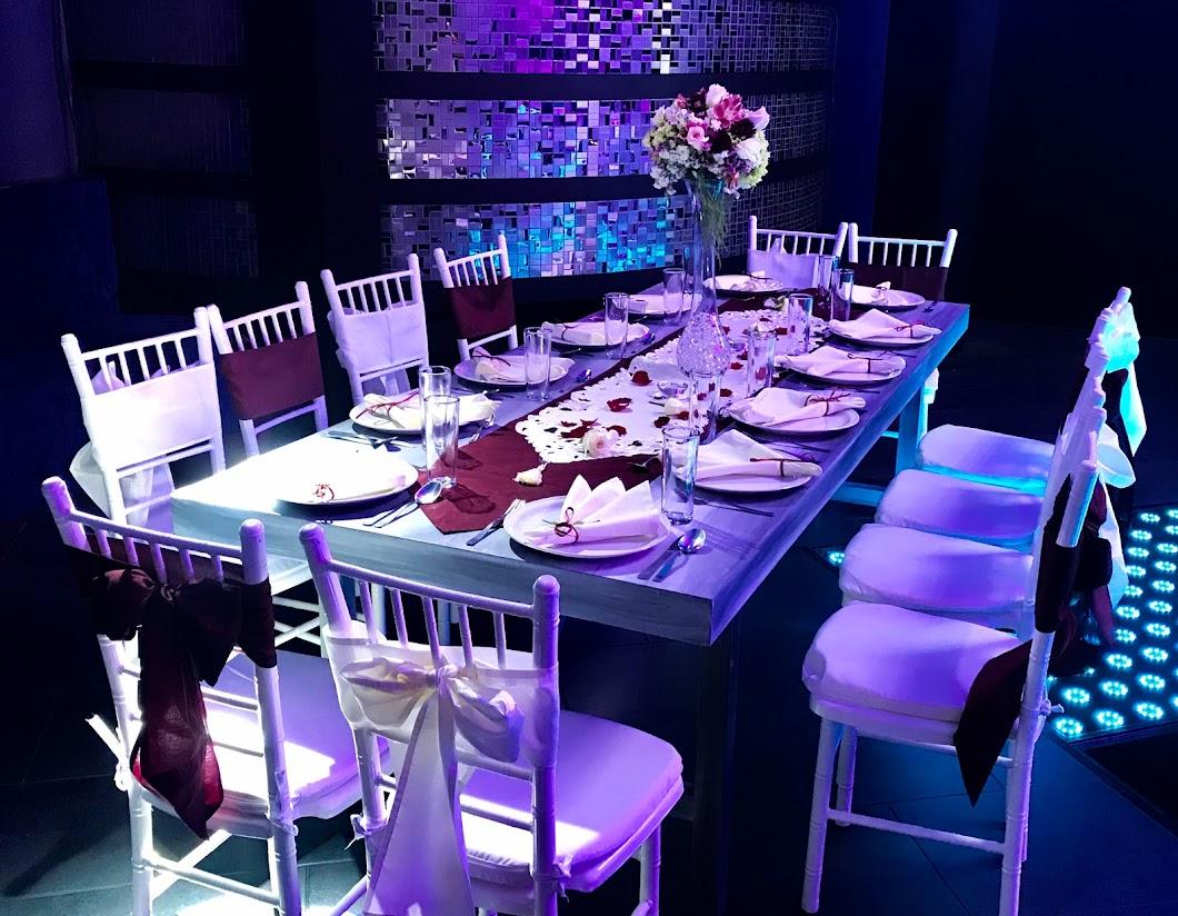 Organizador de eventos, eventos sociales, bodas, banquetes