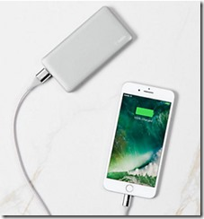 Belkin 5000 mAh portable powerbank charger