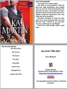 read Against the sky kindle