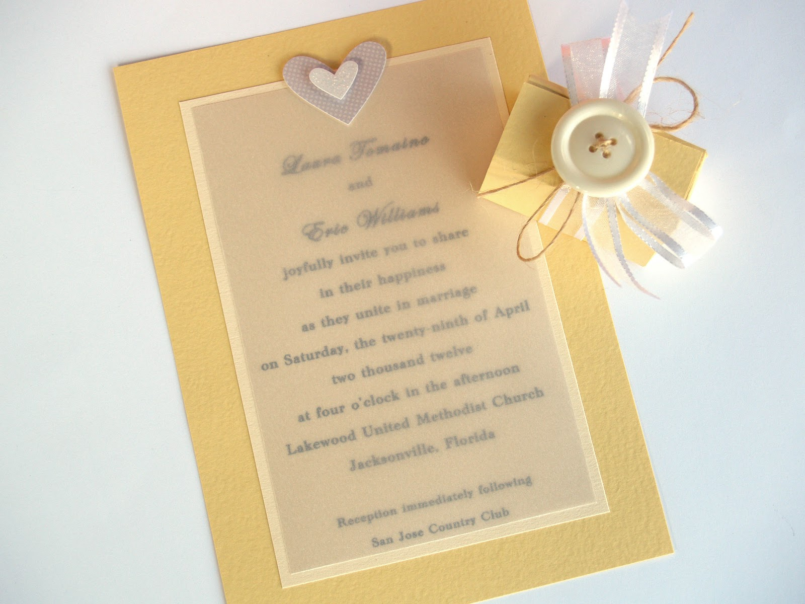 wedding invitations from discount cardstock