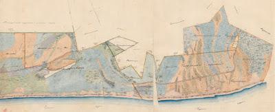 Планы церковной и школьной земли с. Сыренца1866 г.,(из собрания Тартуского Исторического архива)