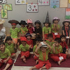 Nursery Section Celebrated Hat Day at Witty World (2015-16)