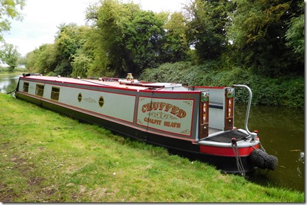 9 moored at curdworth