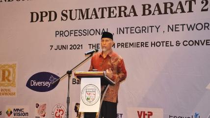 Soedjoko Terpilih sebagai Ketua IHGMA Sumbar, Gubernur Mahyeldi Minta Pariwisata Sumbar Harus Bangkit