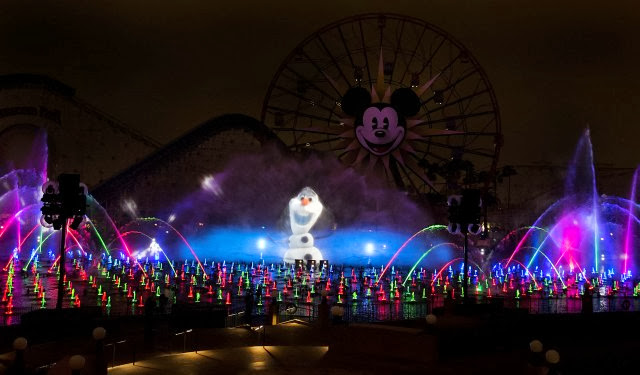 "Disney California Adventures ""World of Color - Winter Dreams"" Show #ThorDarkWorldEvent"