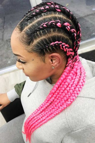 perfect straight braid hairstyle for black women 2018 2019 4