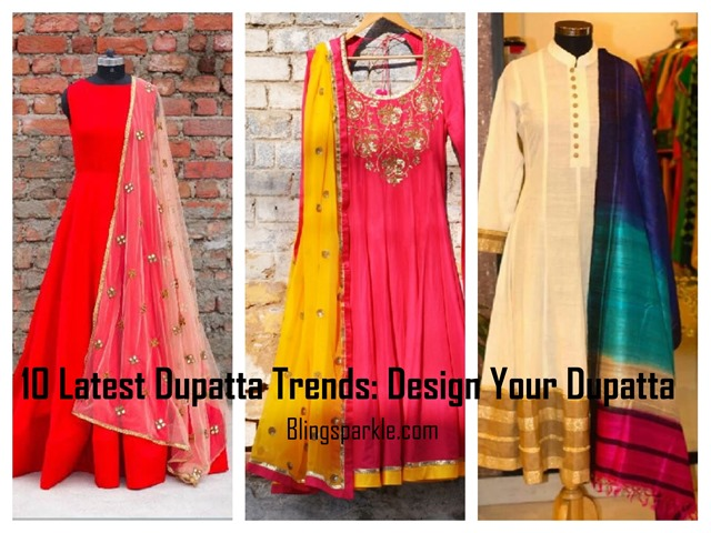 10 Latest Dupatta Trends Design Your Dupatta