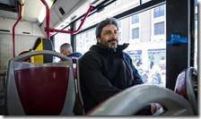 Roberto Fico in autobus