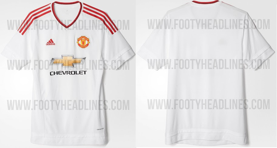b75d3929ea4 New Adidas Manchester United 2015-16 Kits Officially Released