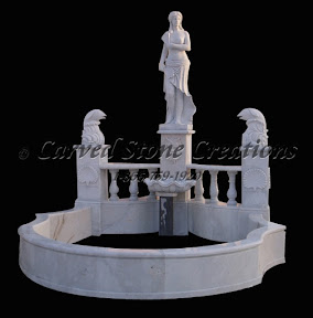 carved stone, Gallery, Pool, Pool Surrounds, Statuary, Statues, Surround