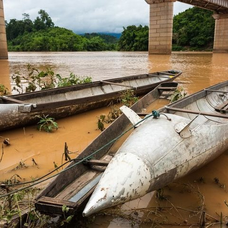 Unexploded Bombs Find Everyday Use in Laos' Villages