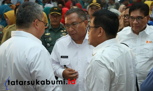 Marwan Hamami besama Mendes PDTT Eko Putro Sandjojo / Foto : Dian Syahputra Pasi (15/1/2019)