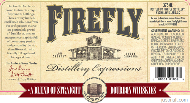 Firefly Distillery Expressions