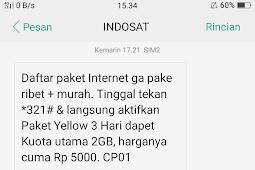 Paket Internet Murah Indosat Ooredoo IM3