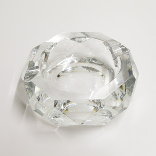 Baccarat Crystal Ash Receptacle