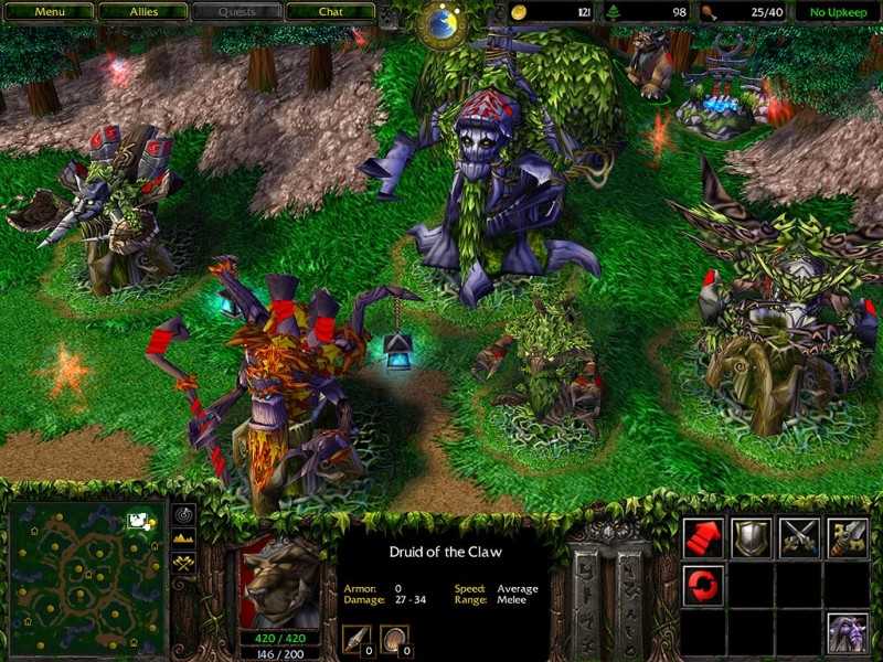 Warcraft III Reign of Chaos + The Frozen Throne + DoTa + Update Pack