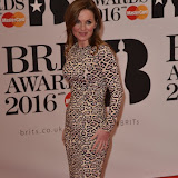 OIC - ENTSIMAGES.COM - Geri Halliwell at the  The BRIT Awards 2016 (BRITs) in London 24th February 2016.  Raymond Weil's  Official Watch and  Timing Partner for the BRIT Awards. Photo Mobis Photos/OIC 0203 174 1069