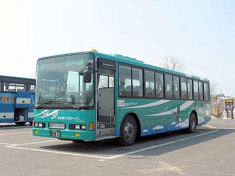 斜里バス 三菱エアロスター 自家用