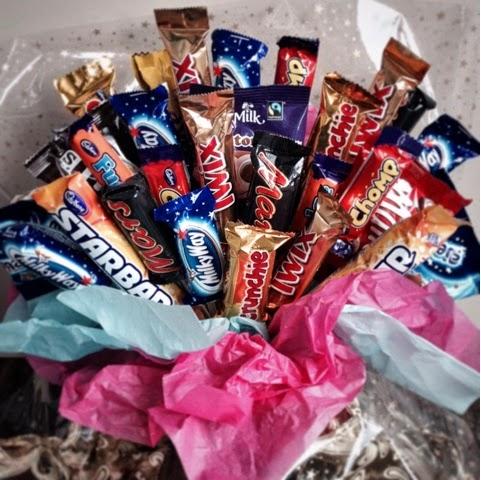 Foodie Quine - Chocolate Bouquet Tutorial, Sweet Bouquet, Candy Bouquet