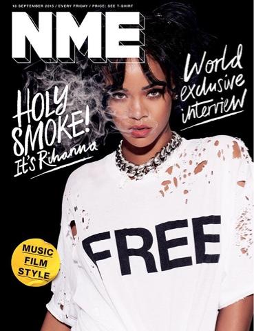 Rihanna for NME Magazine