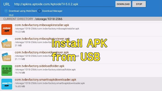 Smart TV APK downloader 5