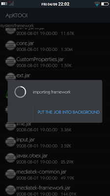 Screenshot Instalasi Framework - catatandroid.blogspot.com