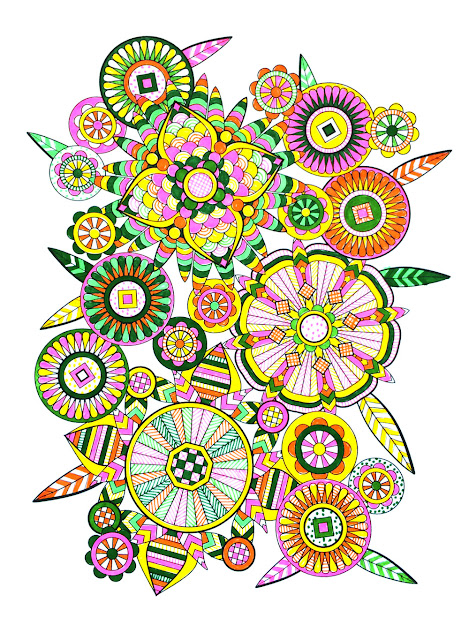 Mandala Design Coloring Book Jenean Morrison With Flower Designs Coloring  Bookc Volume  By Jenean Morrison