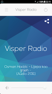 Visper Radio- screenshot thumbnail