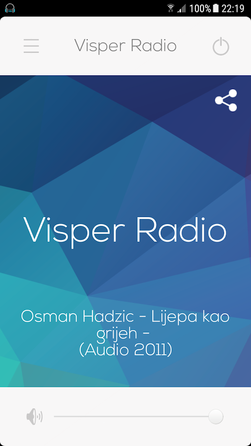 Visper Radio- screenshot
