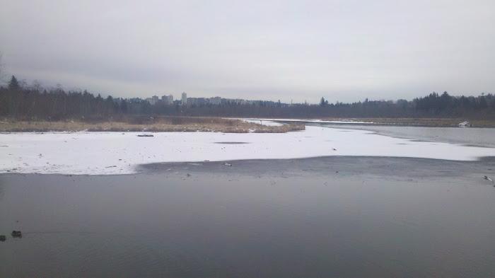 湖上的冬天
