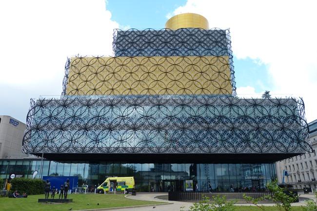 Новая библиотека в Бирмингеме