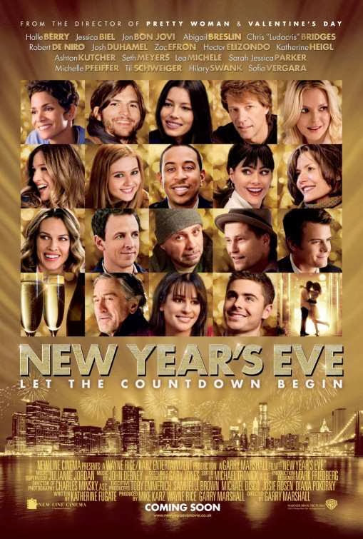 Poster Of New Year's Eve (2011) Full Movie Hindi Dubbed Free Download Watch Online At Alldownloads4u.Com