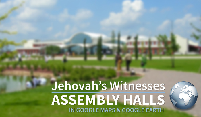 Branch offices of jehovahs witnesses 2018 bethel in google earth world headquarters of jehovahs witnesses assembly sciox Choice Image
