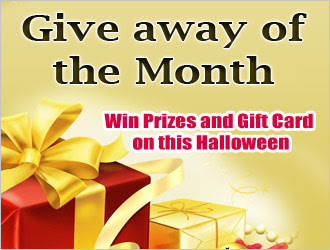 Giveaway of the month